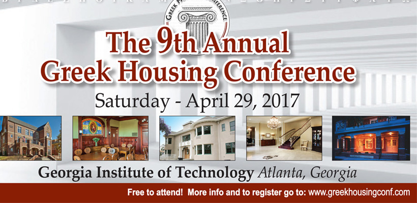 9th Annual Greek Housing Conference