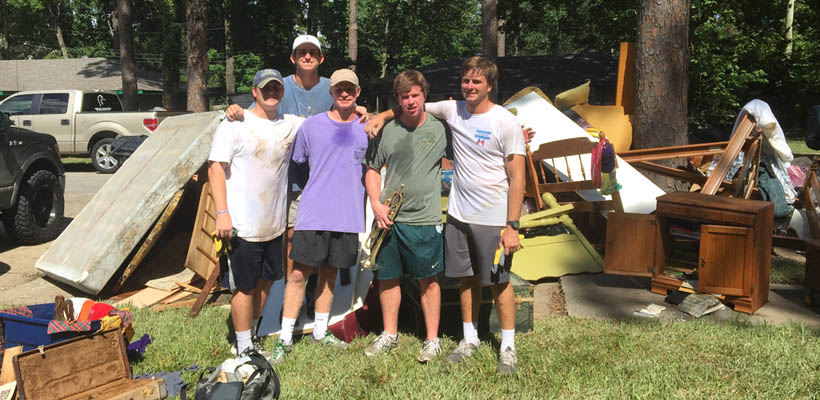 LSU Tekes Help In Time Of Need
