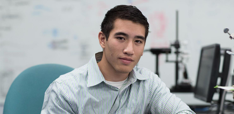 Third-Year Aerospace Engineering Student Draws National Attention