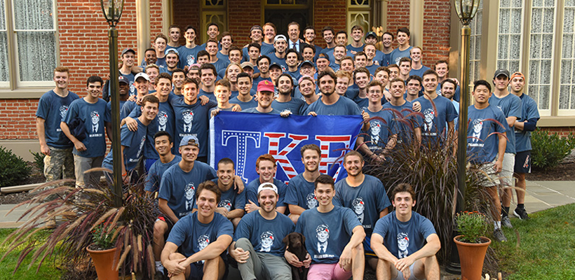 TKE Beta Mu Logs Miles for Memory