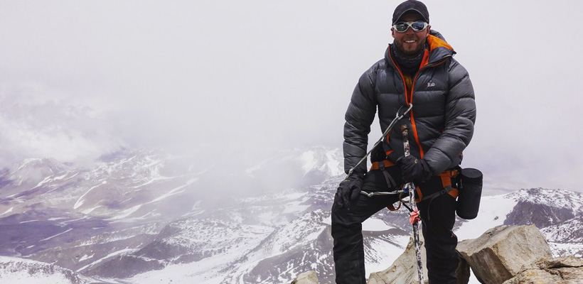 Frater Andrew Hughes Summits The Highest Mountains Across The World