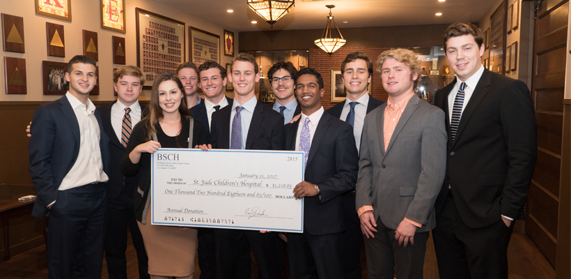 Beta-Sigma Chapter Has A Unique Way To Raise Funds For St. Jude