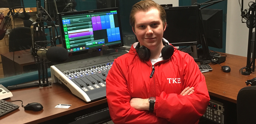 Frater Bode Brooks Nominated As A Finalist For Top Collegiate News Director In the Country