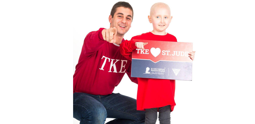 Frater Paul Feghali Selected to Represent TKE and St. Jude at Google Headquarters