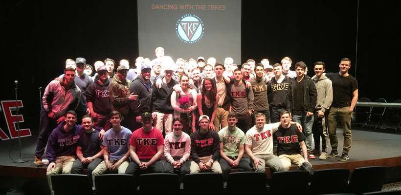 Monmouth University Tekes Raise $2,400 for St. Jude