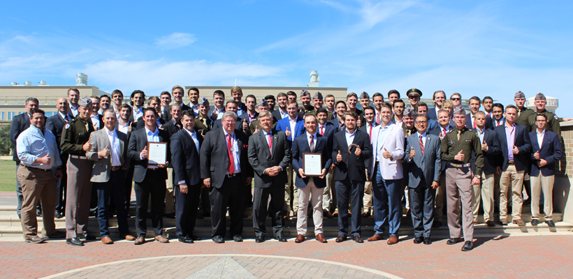 Pi-Eta At Texas A&M Earns Their Charter
