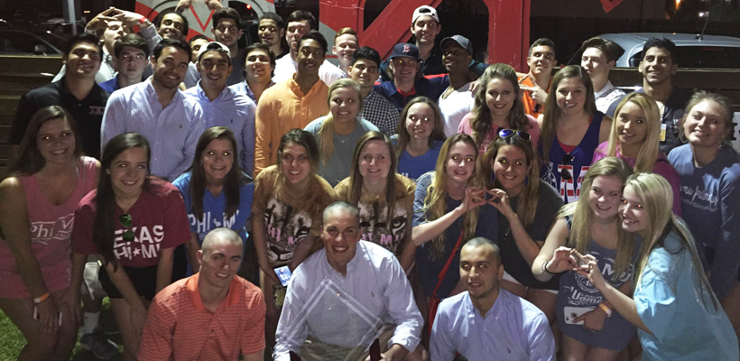 UTSA Tekes Raise $14,000 for St. Jude