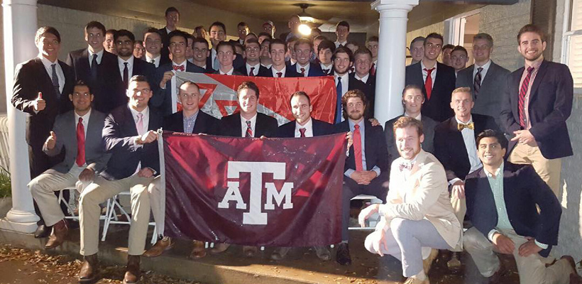 Tau Kappa Epsilon Initiates 48 at Texas A&M