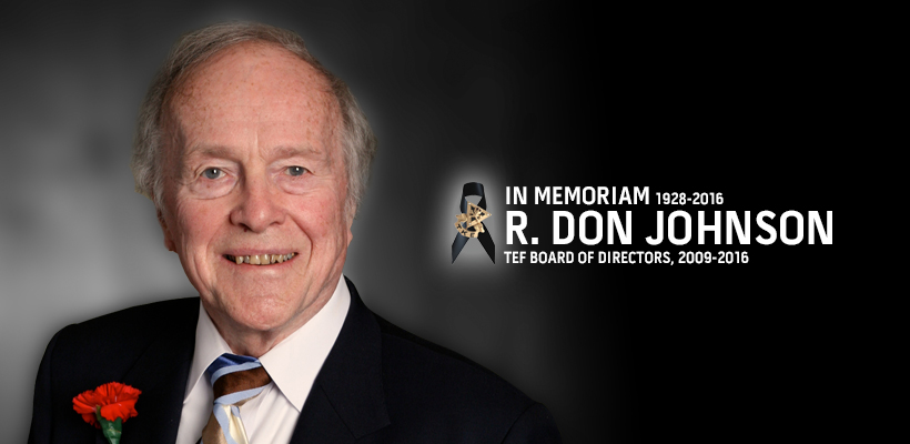 Frater Don Johnson Enters Chapter Eternal